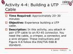 activity 4 4 building a utp cable