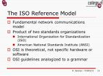 the iso reference model