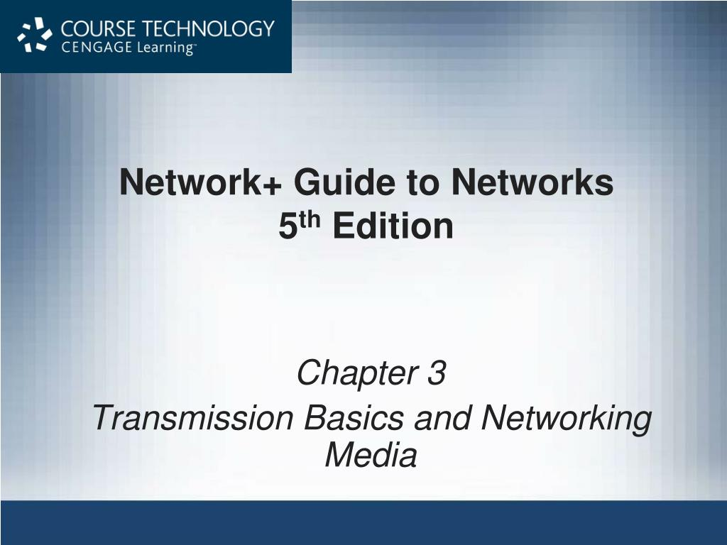 network guide to networks 5 th edition l.
