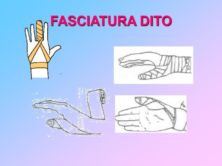 FASCIATURA DITO