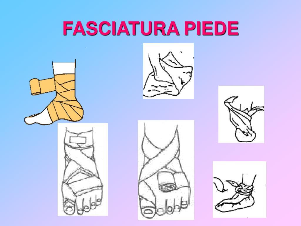 FASCIATURA PIEDE