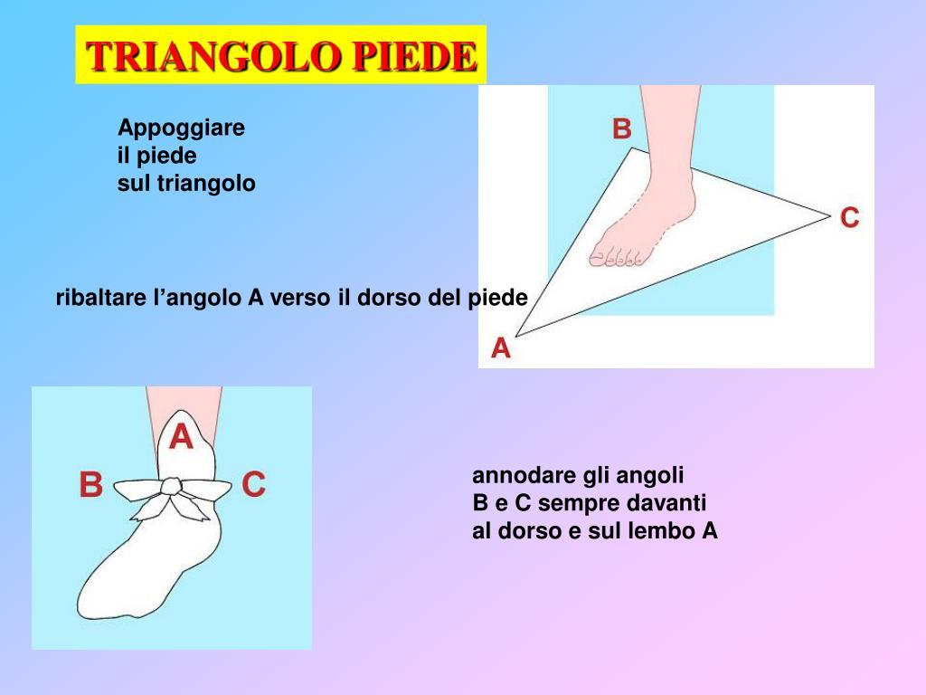 TRIANGOLO PIEDE