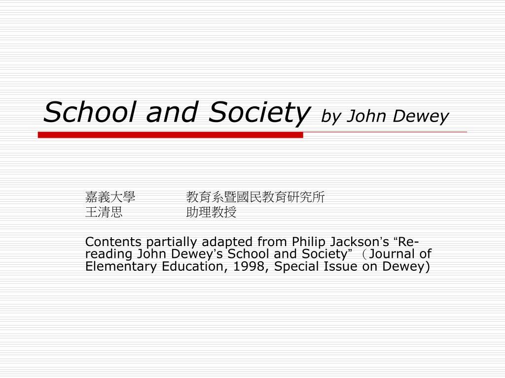 philip jackson education