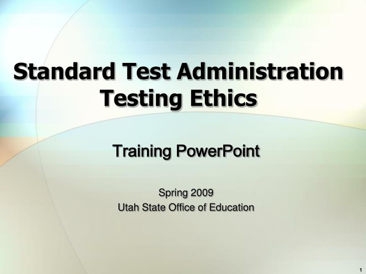 standardized tests and their effect on A driving force in standards-based educational reform was the 1983 release of.