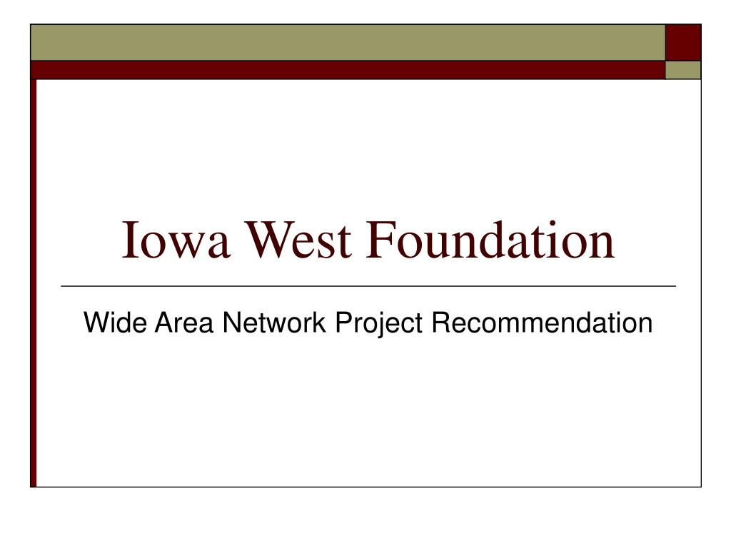 iowa west foundation l.