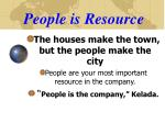 people is resource