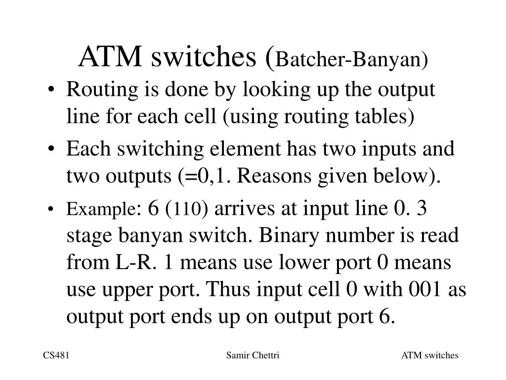 ATM switches (