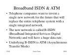 broadband isdn atm