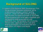 background of sulong