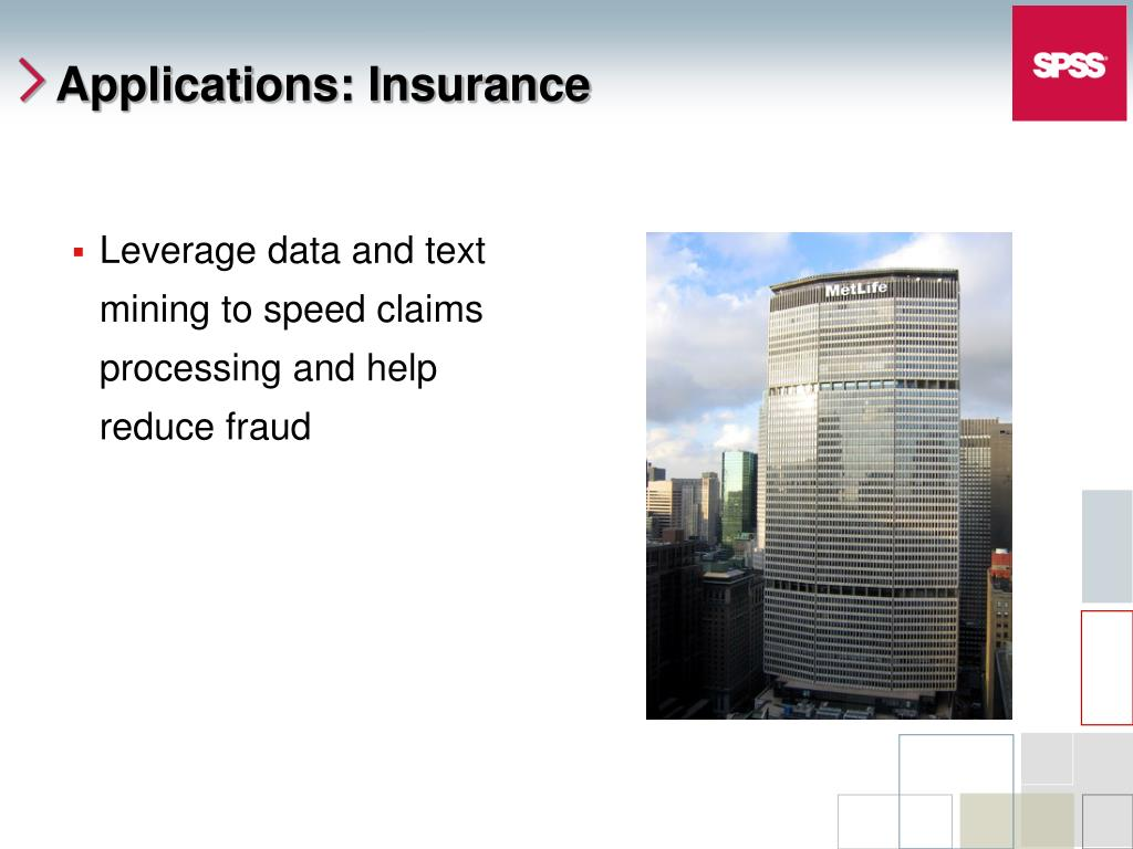 Leverage data and text mining to speed claims processing and help reduce fraud