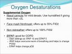 oxygen desaturations