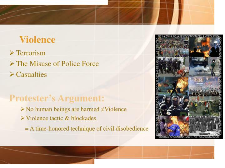 terrorism and selective violent tactics In this article, the concept of terrorism is described in detail through an interdisciplinary examination of its defining features, history, as well as trends a.