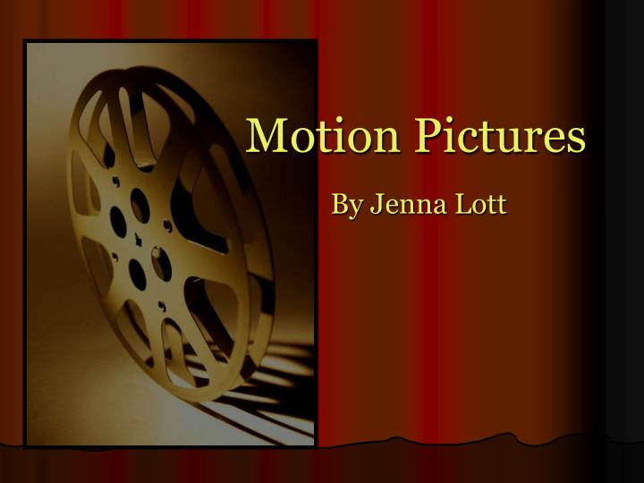 motion pictures n.