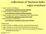 collections of business links super searchers