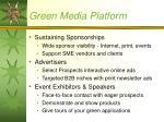 green media platform