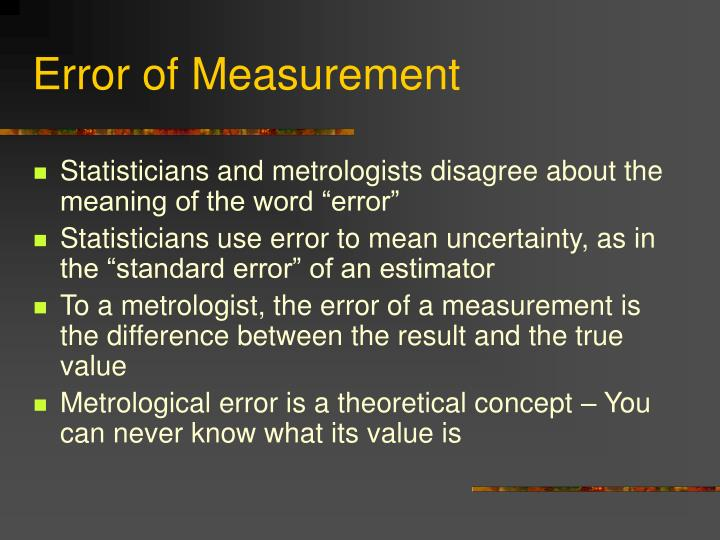 error uncertainties and measurements essay View essay - error_uncertainty from error_uncertainty - experimental errors and clearly and correctly report measurements and the uncertainties in those.