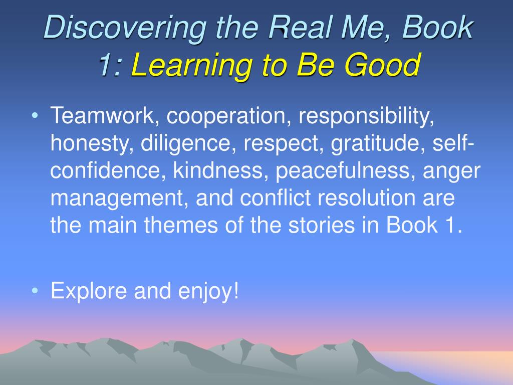 Discovering the Real Me, Book 1: