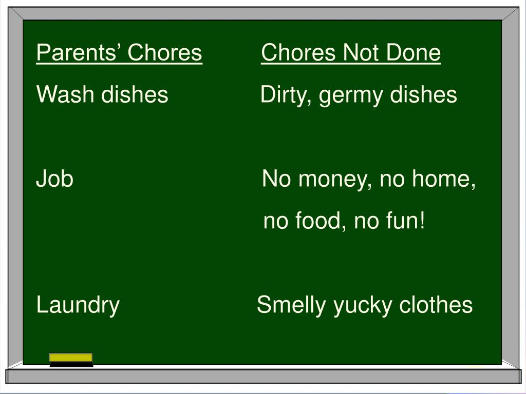 Parents' Chores