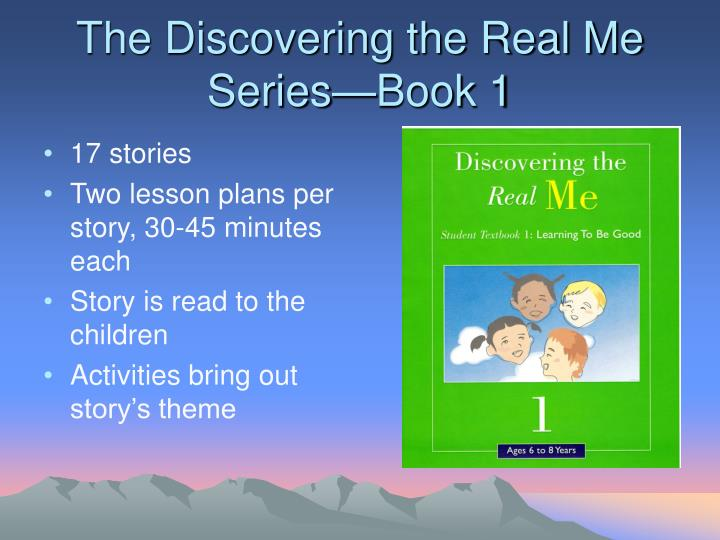 The discovering the real me series book 1