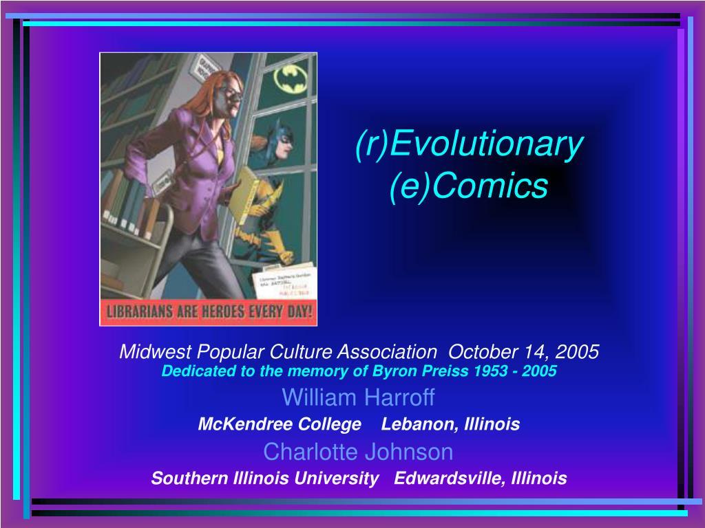 r evolutionary e comics l.