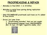 proofreading repair