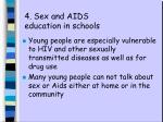 4 sex and aids education in schools