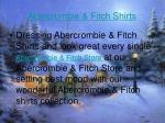 abercrombie fitch shirts
