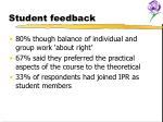 student feedback14