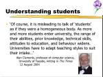 understanding students7