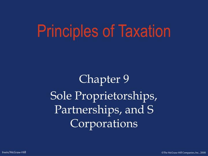 PPT Principles Of Taxation PowerPoint Presentation ID 484519