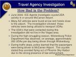 travel agency investigation10