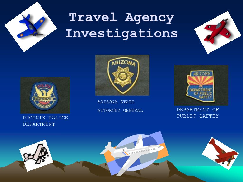 travel agency investigations l.