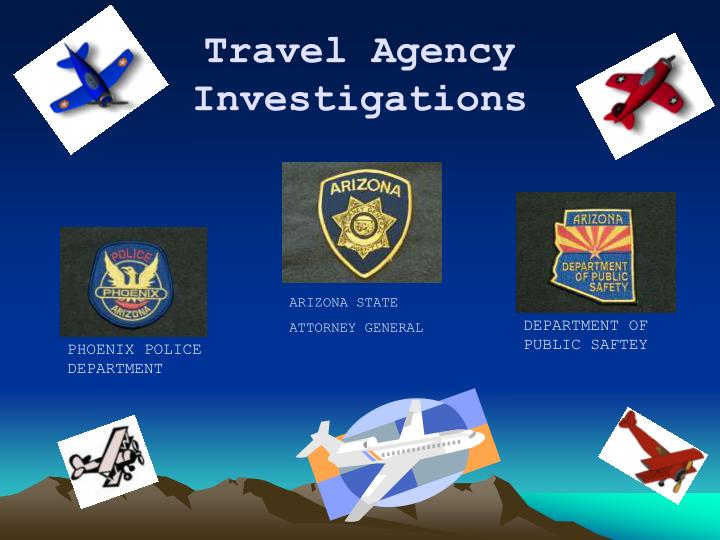 travel agency investigations n.