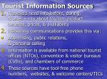 tourist information sources