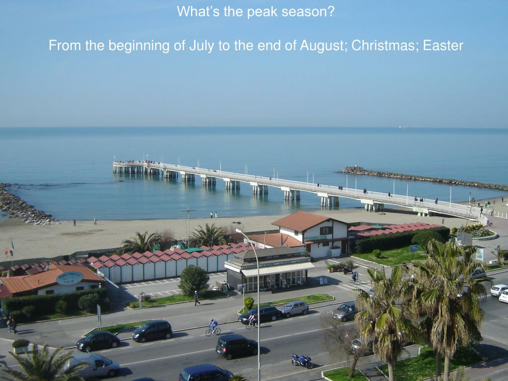 What's the peak season?