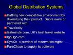 global distribution systems14