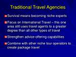 traditional travel agencies16