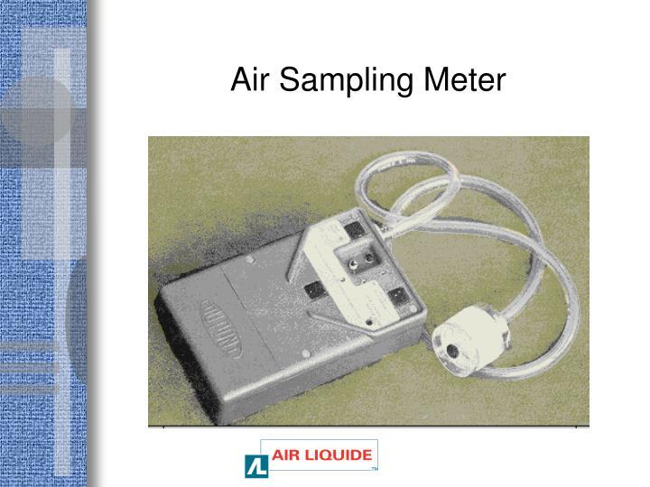 Air Sampling Meter