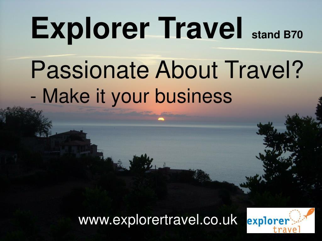 explorer travel l.