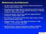 references architecture