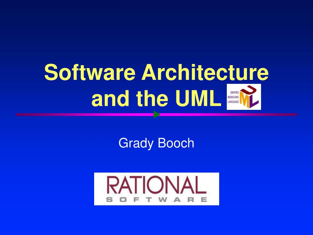 software architecture and the uml l.