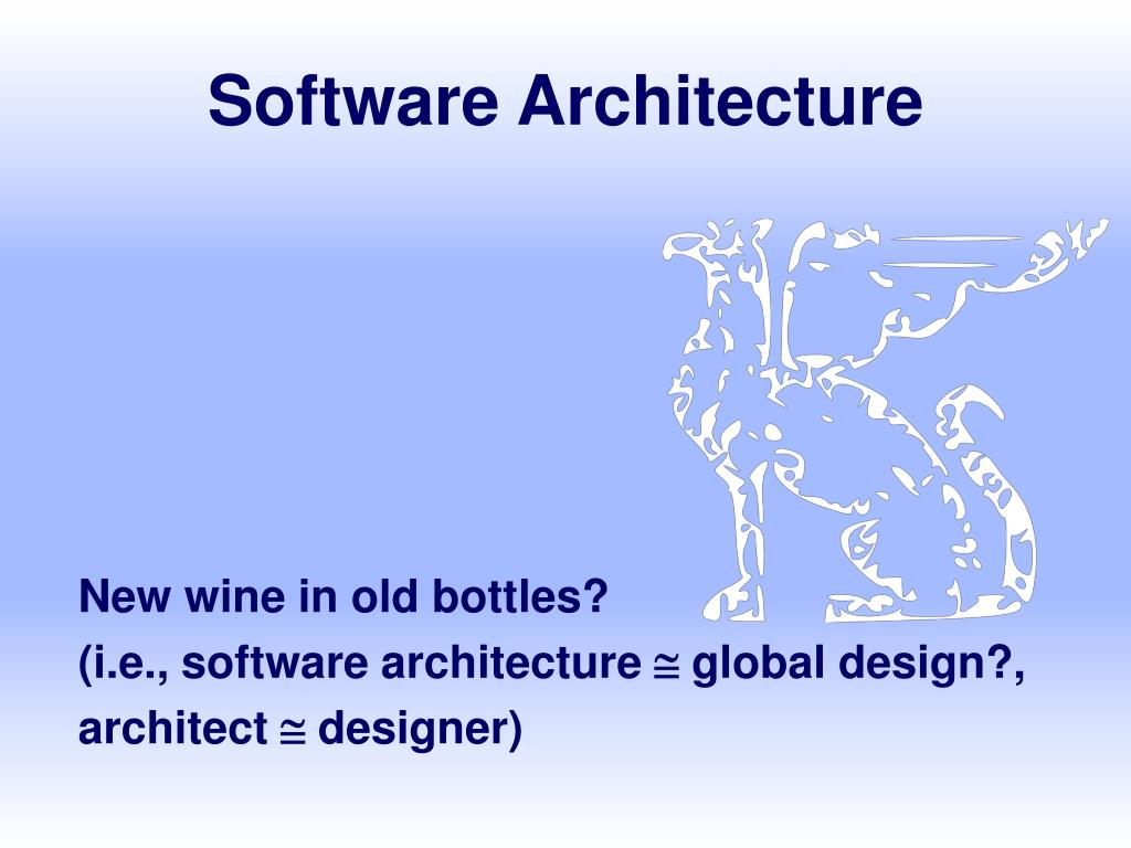 software architecture l.