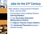 jobs for the 21 st century1