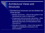 architectural views and structures