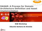dagar a process for domain architecture definition and asset implementation