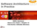 software architecture in practice42