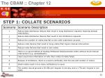 step 1 collate scenarios