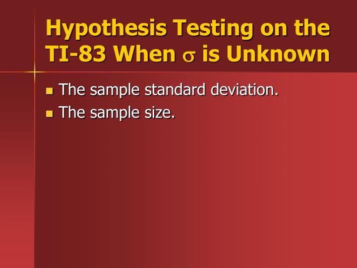 hypothesis of unknown identification Supported our hypothesis, which was that if we conducted a series of physical tests, then we could identify the unknown substance because any substance that is not a chemical compound can be identified through a series of physical tests.