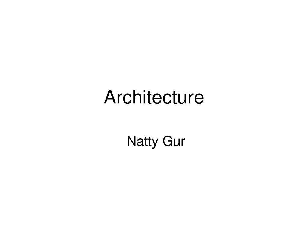 architecture l.