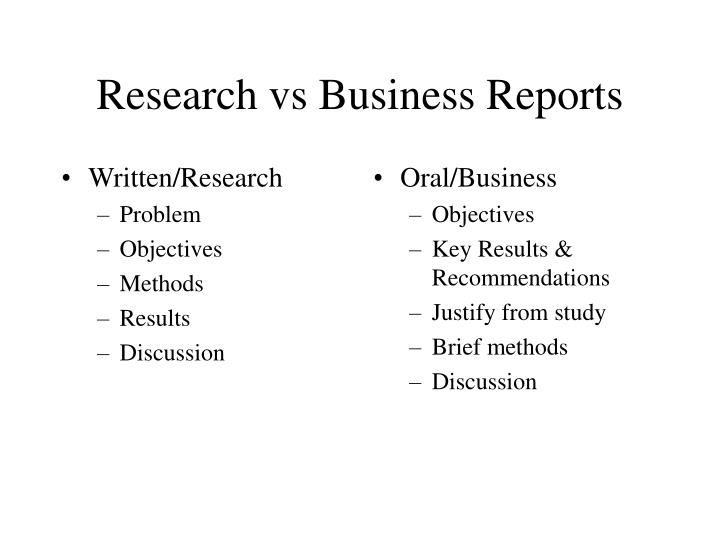 Written/Research